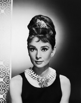 Audrey Hepburn as Holly Golightly in Breakfast at Tiffany's (Photo by George Rinhart/Corbis via Getty Images)